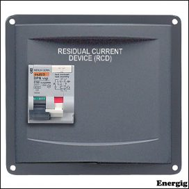BEP Panel Mounted RCD 2X16A