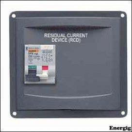 BEP Panel Mounted RCD 1X32A