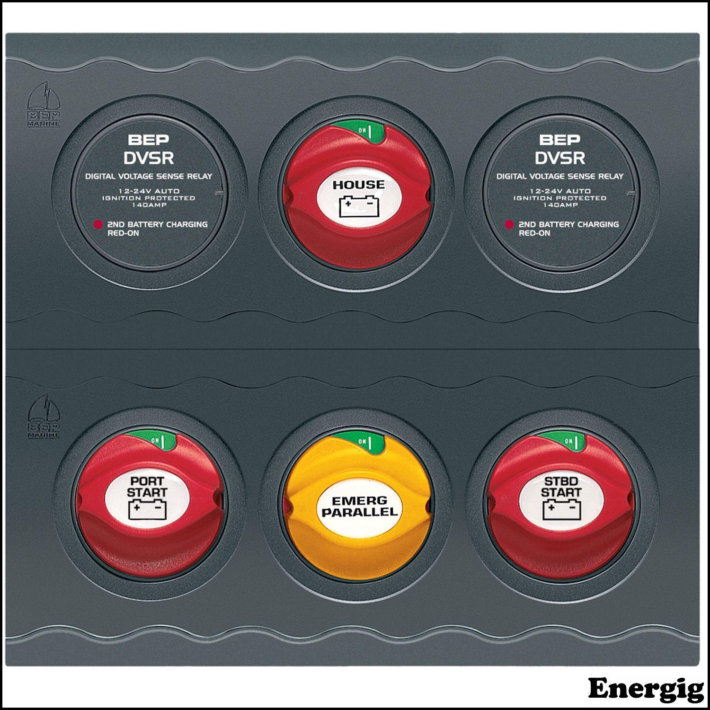 Battery Switch Panels