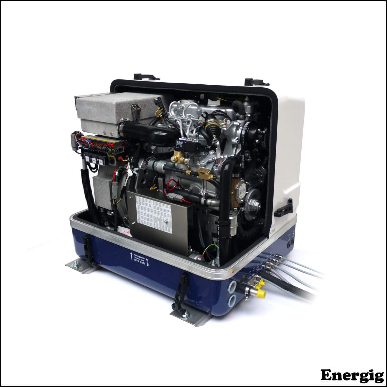 Fischer Panda Marine DC Charging generators