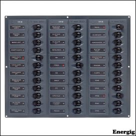 BEP Circuit DC Panel - 36-Way