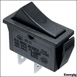 BEP Contour Generation II Spare Switch - (ON)/OFF/(ON)