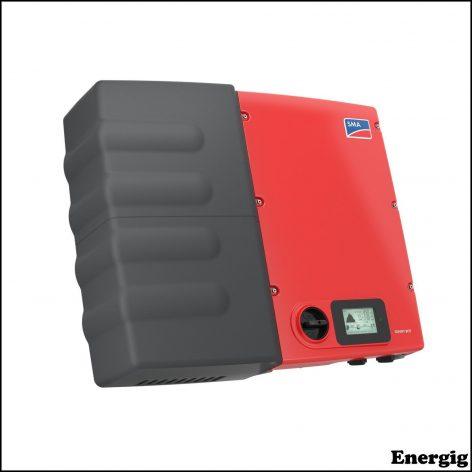 SMA Sunny Boy Smart Energy Solcelle inverter og batteri