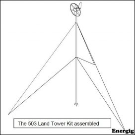 Mast kit for Rutland 503/504 Wind charger