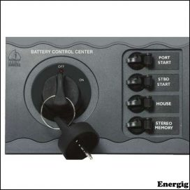 BEP Battery Control f/Single Engine Remote