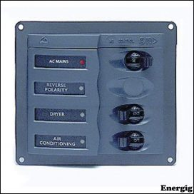 BEP AC Sikringsafbryder Panel uden meter