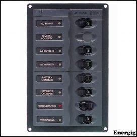 BEP AC Circuit Breaker Panel without Meters